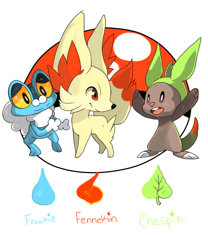 Pokemon XY by Ladlebug