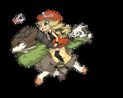 Pokemon Ride by Ladlebug