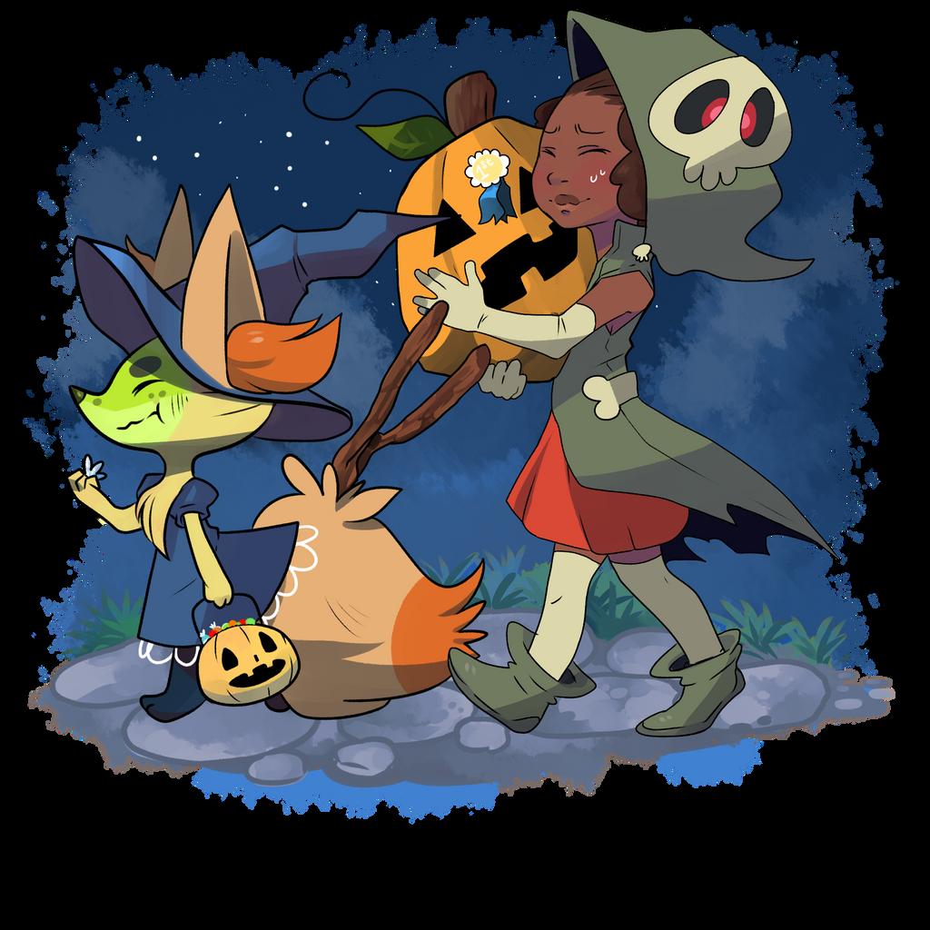 Výsledek obrázku pro pokémon halloween png