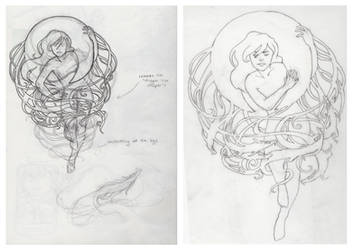 Fear of the Moon: Sketches by SimoneMorgan