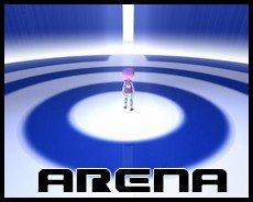 Lyoko Arena. by Aelita-Cyber-Fan