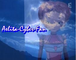 Aelita with a big blue sky. by Aelita-Cyber-Fan