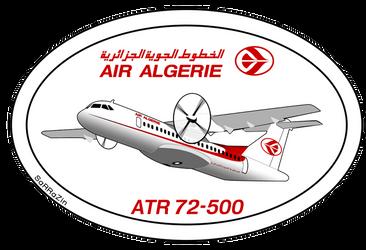 ATR 72-500 Air Algerie