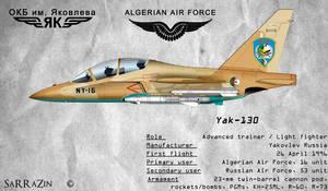Profile-yak-130 Camo Desert