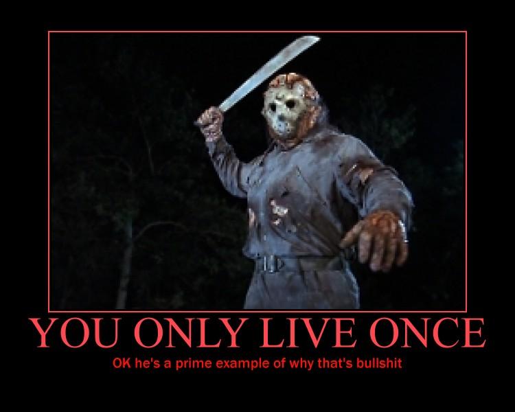 Funny Memes Jason : Jason voorhees motivational by redmange on deviantart