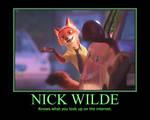 Nick Wilde motivational 5