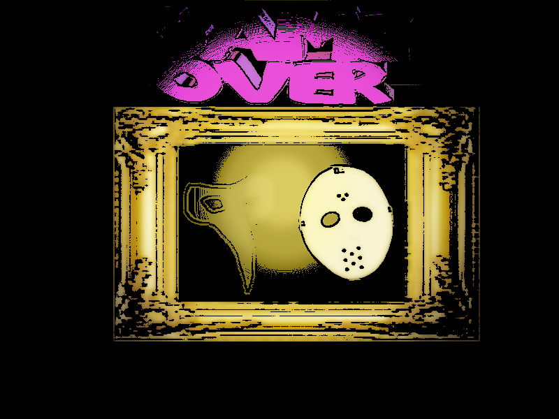 LUIGIS MANSION GAME OVER WALLPAPER By GEEKFOREVER3