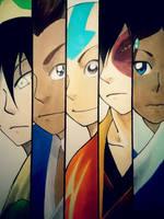 Team Avatar by RipeDesu