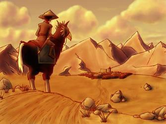 Avatar: Zuko Alone by Mattierial