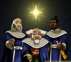 Avatar: Three Wise Lotus by Mattierial