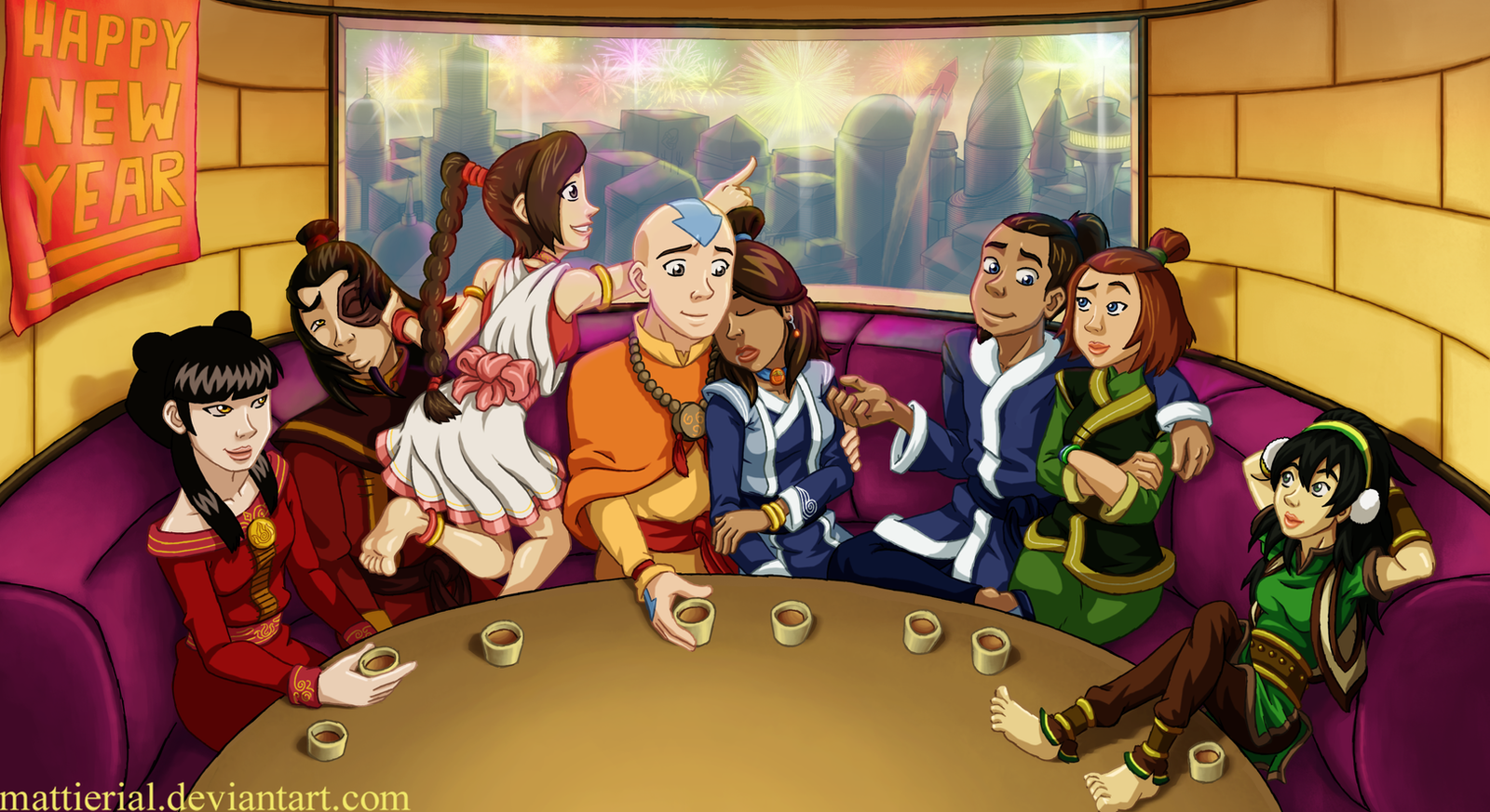 Avatar: HAPPY NEW YEAR by Mattierial