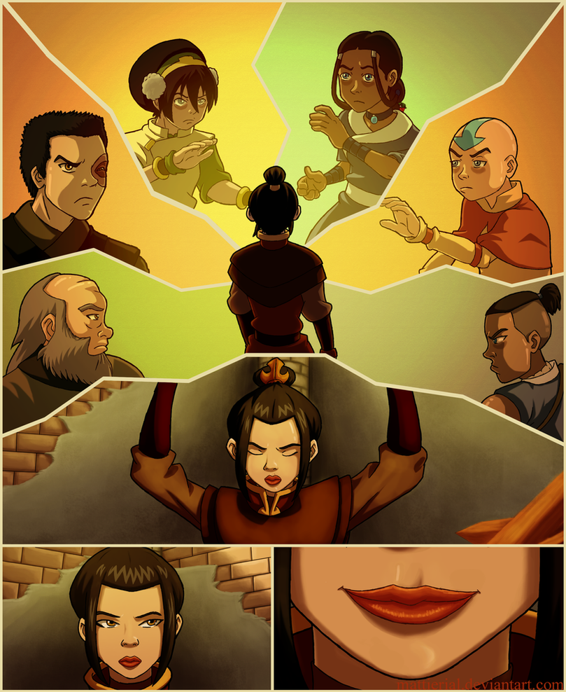 Avatar: The Unlikely Allies by Mattierial