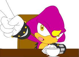 Espio wants Coffee by bw4789