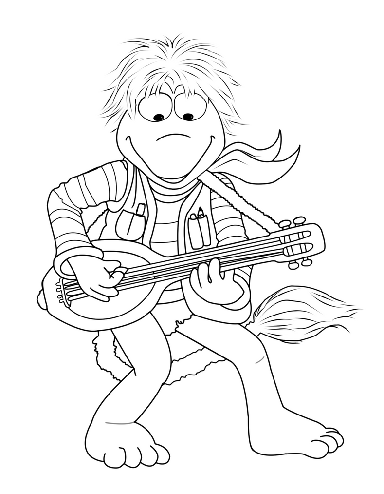Fraggle Rock Coloring Pages. detailed coloring pages click on the ...