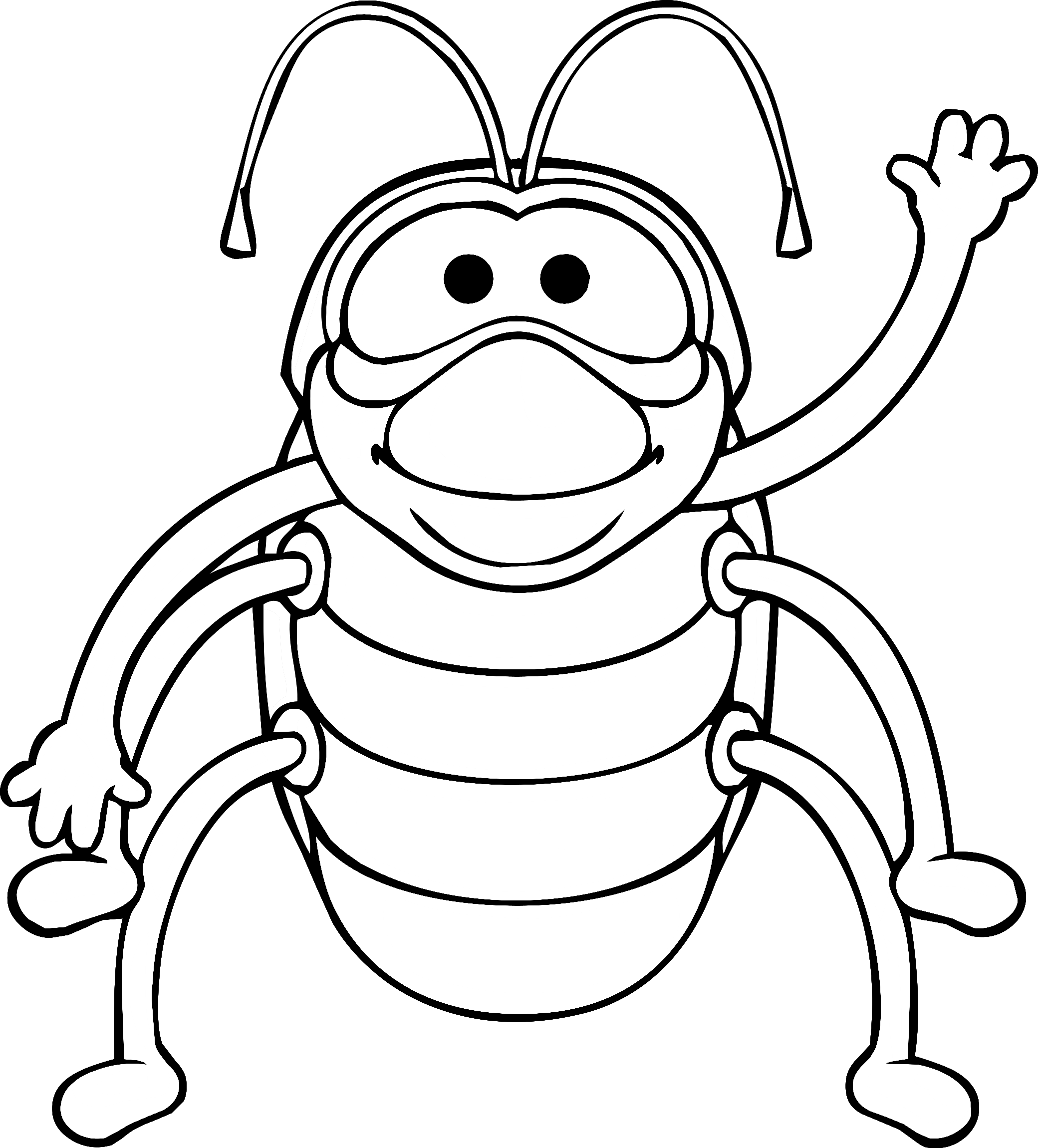 Pill bug coloring page coloring coloring pages for Coloring pages bugs