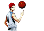 Kuroko no Basket render - Akashi Seijuro