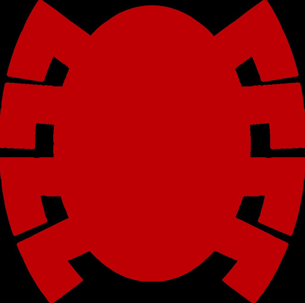 Spider-man back symbol comic by redknightz01
