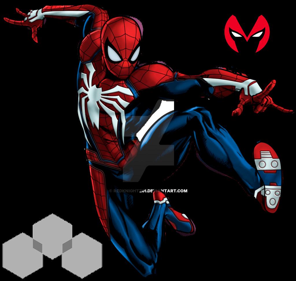 Spiderman Insomniac Games Marvel Avenger Alliance By -3832