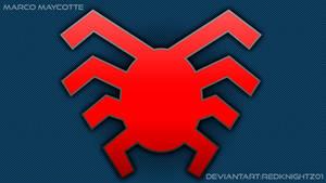 Spider-man Civil War BTS Prototype Symbol by redknightz01 ...  Spider-man Civi...