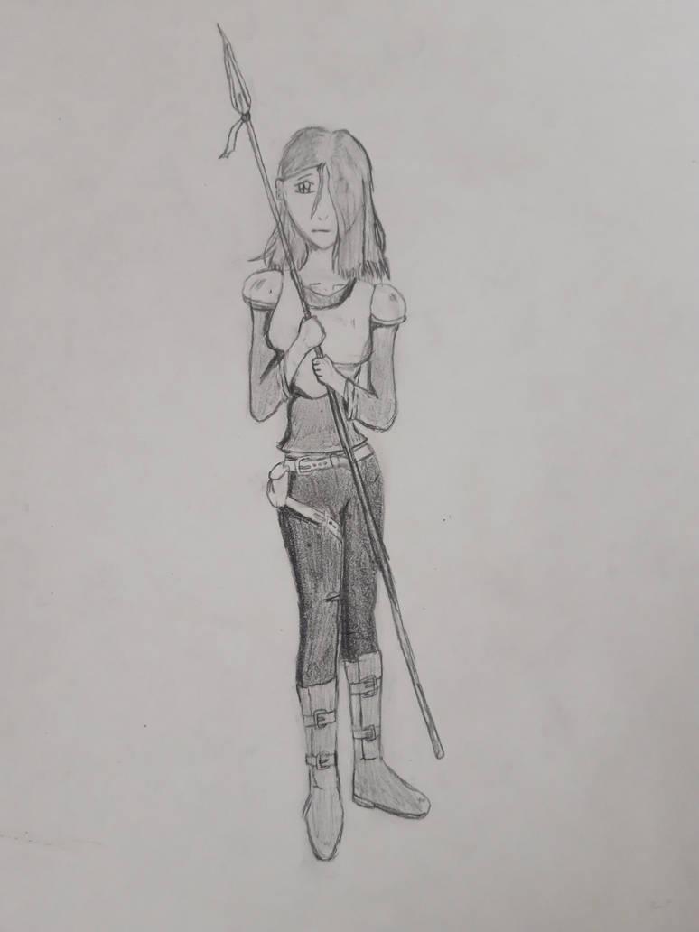 My  DnD character- Rosaleen Amirite by KadenHitsugaya