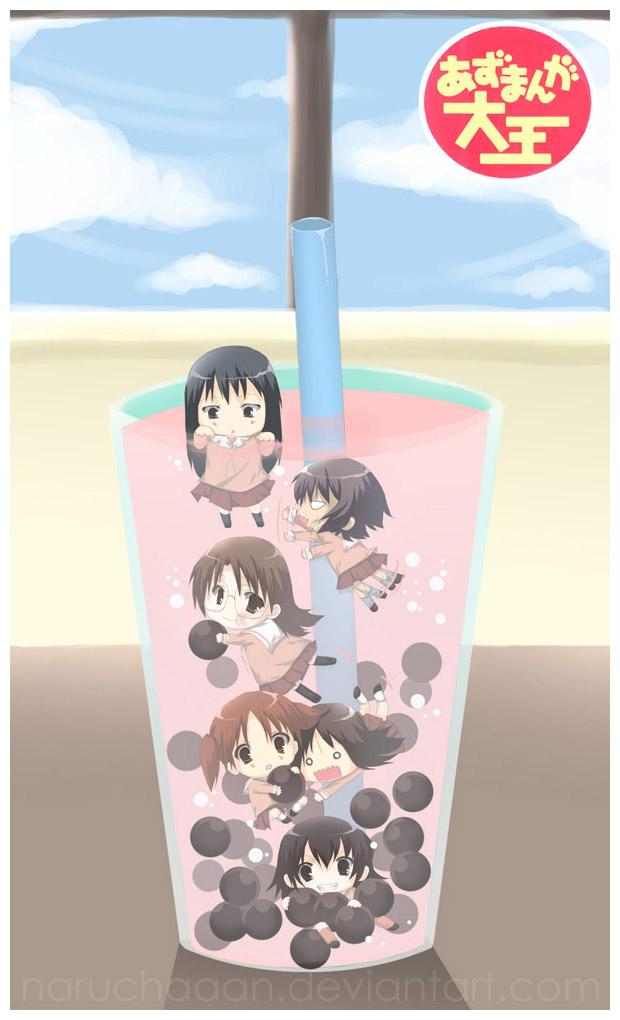 Azumanga Daioh - Bubble Tea by naruchaaan