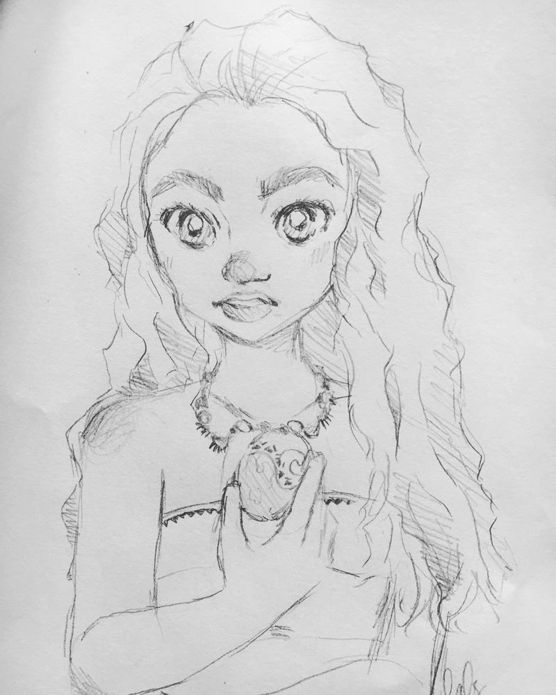 Moana Sketch by naruchaaan