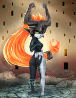 Midna - Zelda Twilight Princess by Yur1Rodrigues
