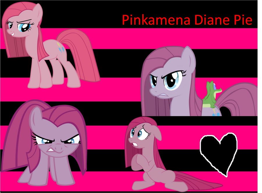 Pinkamena Diane Pie by Melaponis