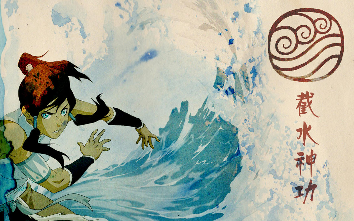 Korra waterbending wallpaper by a n n a m a r i e on deviantart korra waterbending wallpaper by a n n a m a r i e voltagebd Images