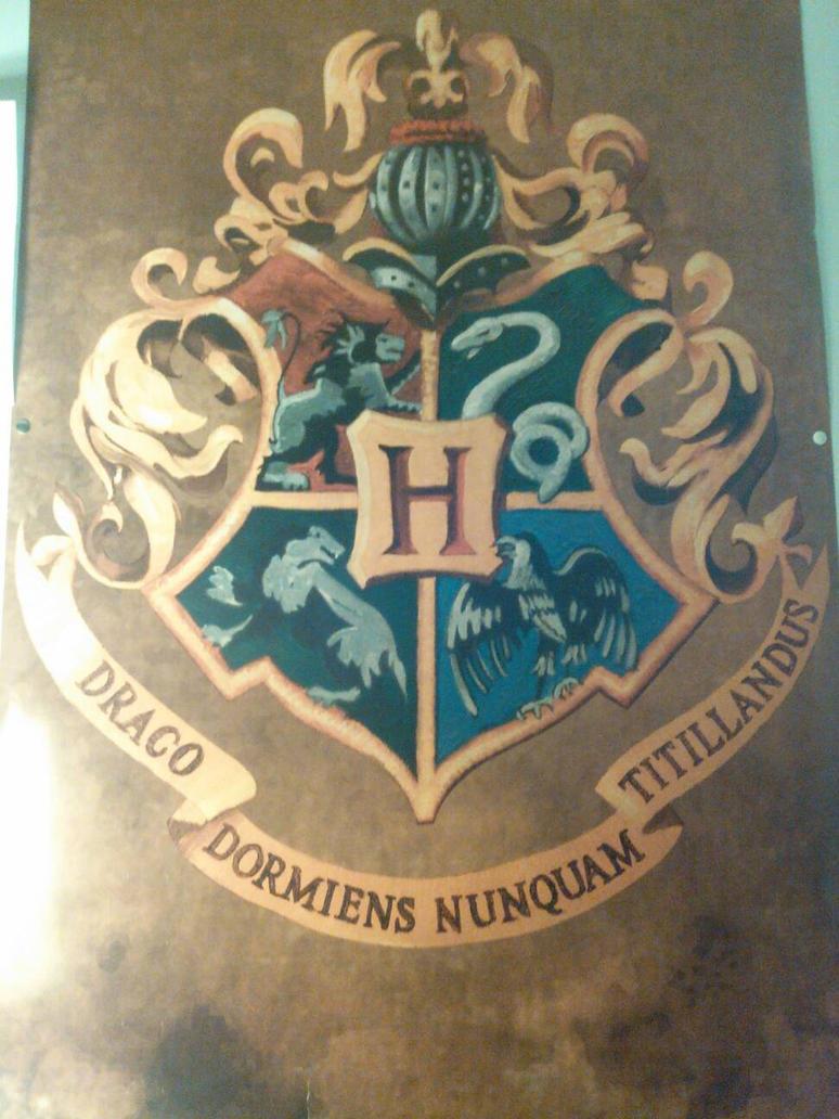 Hogwarts by Shadowsans2