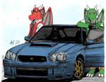 The Draco Bros' car