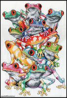 Frog Pile by ensignbeedrill