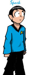 Spock by ensignbeedrill