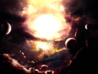 Supernovae by Zlydoc