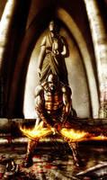 Kratos 'god of war'