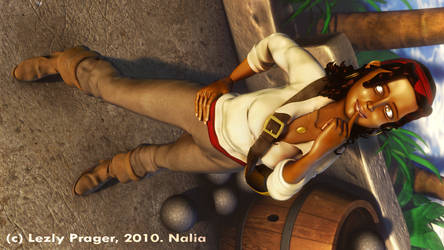 Nalia : Pirate girl by Zlydoc