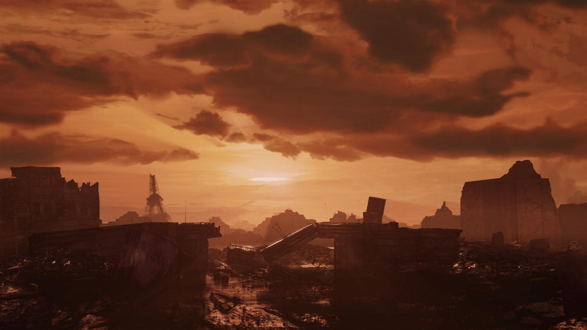 Paris post apocalypse by Zlydoc