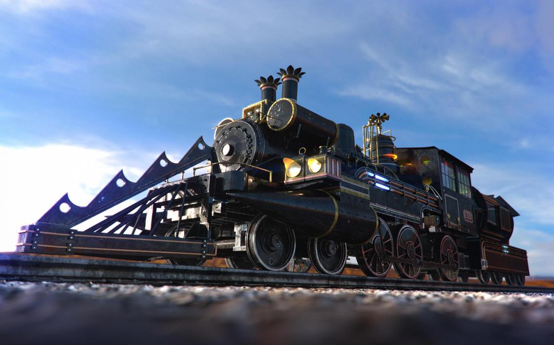 Train Jules Vernes render 1 by Zlydoc