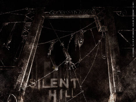 barbed wires in silent hill