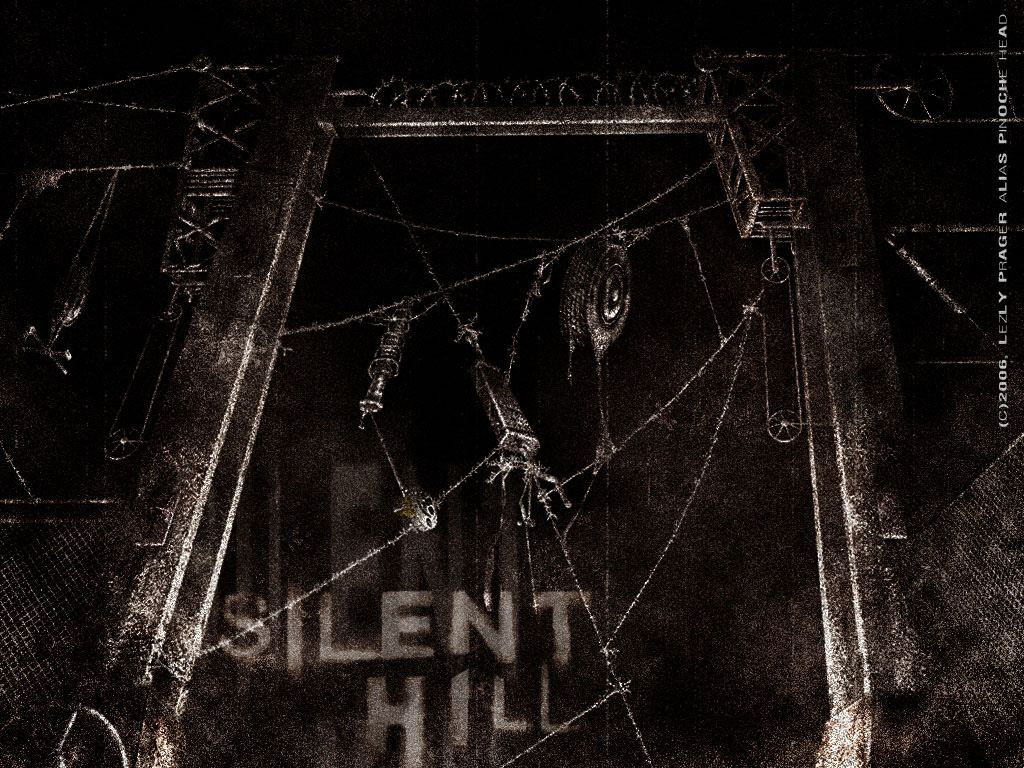 barbed wires in silent hill by Zlydoc