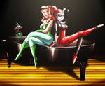 Harley Quinn, Poison Ivy and..