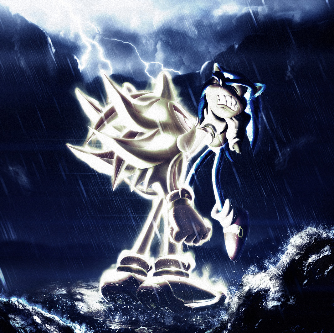 Sonic and bad Super Shadow by Zlydoc on DeviantArt