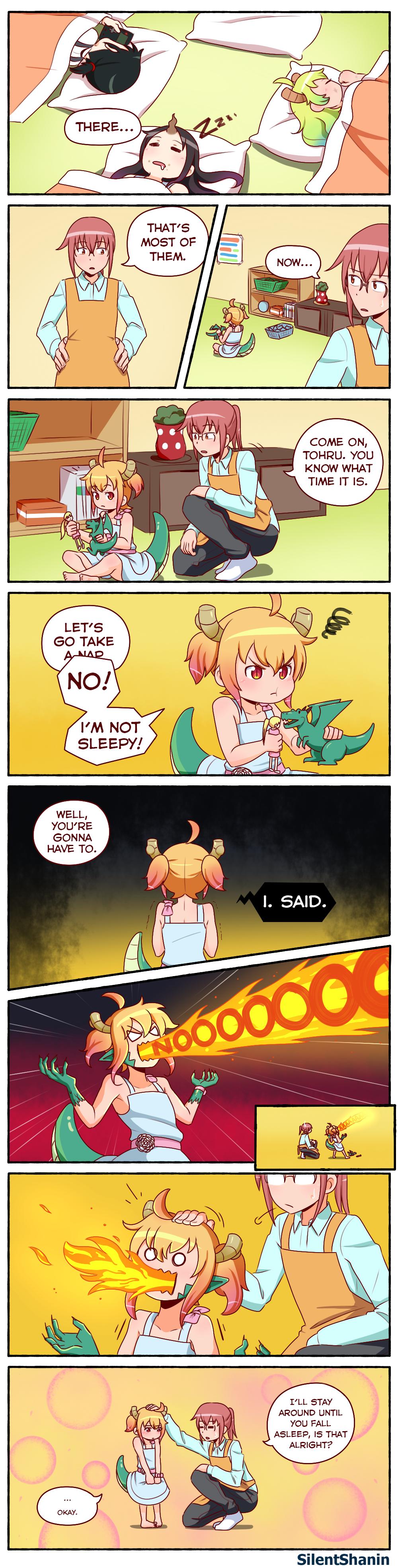 [Dragonling AU] Nap Time