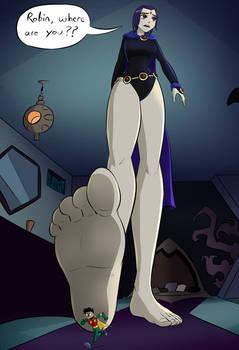 Unaware Raven