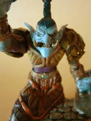 WOW Druid Troll gift face detail. by soul-burner
