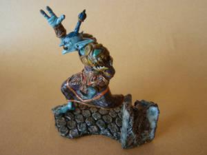WOW Druid Troll side view