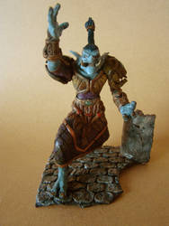 WOW Druid Troll Christmas gift (front View)