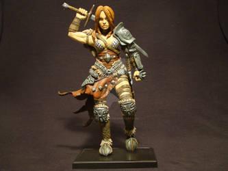 Diablo III, Female Barbarian Contest Entry.