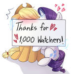 Thanks for 1000 watchers
