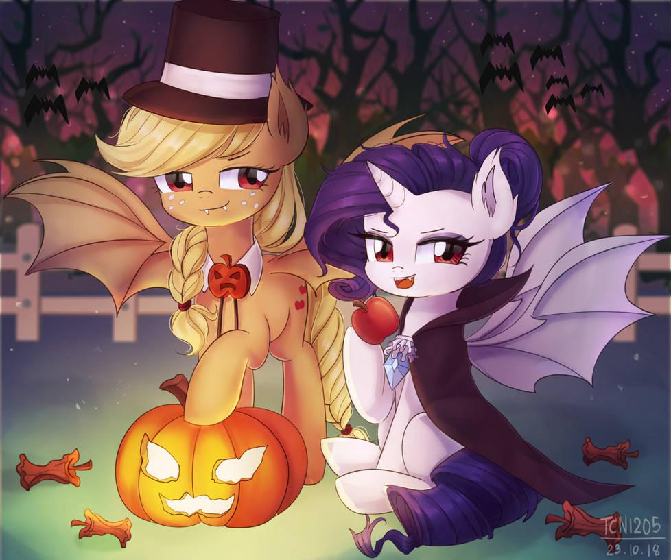 Rarijack bat pony by LooknamTCN